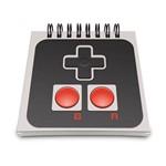 Bloco de Anotações Joystick 8-bits Minimalista