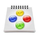 Bloco de Anotações Joystick ABYX