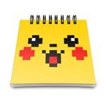 Bloco de Anotações - Pikachu