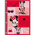 Bloco de Fichário Minnie Mouse 80 Folhas Tilibra