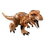 Bloco de Montar Dinossauros Jurassic World Park Minifigures T-Rex Tiranossauro Rex Compatível LEGO