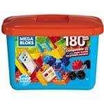 Bloco de Montar - Mega Bloks - Mega Construx - Junior Builders - 180 Pecas MATTEL