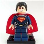 Bloco de Montar Superman Super Homem DC Compatível LEGO
