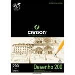 Bloco Desenho Canson Universitaria 200 - 200 G A2 020 Fls Creme 66667040