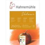 Bloco Desenho Velour 260 G/m² 24 X 32 Cm com 10 Cores Hahnemuhle