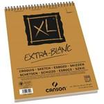 Bloco Encadernado Canson Xl® Extra Blanc 90g/M² A3 29,7 X 42 Cm com 120 Folhas – 200787501