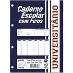Bloco para Fichário Pequeno Monobloco Branco 96 Folhas 14x21 Pacote com 05 São Domingos