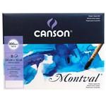Bloco Pochette Montval Canson A4+ 24 X 32 300 G/M² - 6376