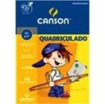 Bloco Quadriculado A4 1x1 30f 63g Canson