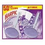 Bloco Sanitaria Harpic Higien 26g 50% Desc 2 Unidade Lavanda