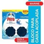 Bloco Sanitario Pato Apar com 2 50% Desc Seg Unid Marine