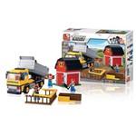 Blocos Construção Caminhão com Caçamba 384 Peças - BR831
