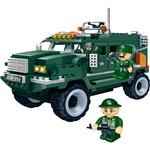 Blocos de Montar Banbao Força Tática Veículo Militar - 287 Peças