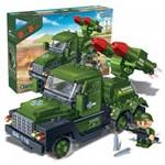 Blocos de Montar Forca Tatica Jeep Lanca Missel 8844 Banbao