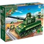 Blocos de Montar Forca Tatica Tanque de Guerra 8234 Banbao