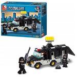 Blocos de Montar Multikids Polícia Carro de Comando 206 Peças