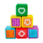 Blocos de Montar - Primeiras Palavras - Aprender e Brincar - Formas - Fisher-price