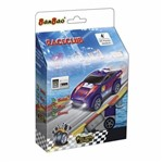 Blocos de Montar Raceclub Carro Sport Roxo - Banbao