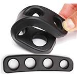 Bloqueio Silicone Treinamento Basquete Mãos Instrutor F02