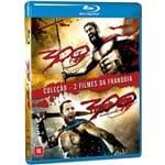 Blu-Ray - 300 + 300: a Ascensão do Império (2 Discos)