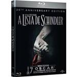 Blu-ray - a Lista de Schindler - Edição de 20º Aniversário com Livreto (Duplo)