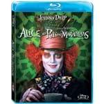 Blu-ray - Alice no País das Maravilhas (Tim Burton)