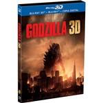 Blu-ray + Blu-ray 3D - Godzilla (2 Discos)