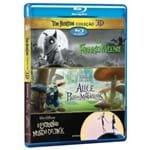 Blu-ray - Coleção Tim Burton 3D