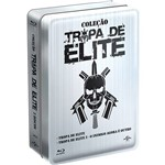 Blu-Ray - Coleção Tropa de Elite - Edição Colecionador (2 Discos)