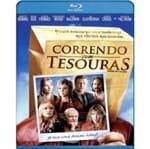 Blu-Ray Correndo com Tesouras