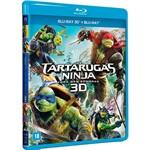 Blu-Ray 3D + Blu-Ray - as Tartarugas Ninja: Fora das Sombras