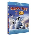 Blu-Ray 2d + Blu-Ray 3d - Happy Feet 2