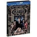 Blu-Ray 2D + Blu-Ray 3D - o Grande Gatsby