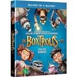 Blu-ray 3D + Blu-ray - os Boxtrolls