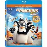 Blu-ray 3D + Blu-ray - Pinguins de Madagascar (2 Discos)