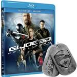 Blu-Ray 3D G.I. Joe: Retaliação (Blu-Ray 3D + Blu-Ray) + Name Tag G. I. Joe
