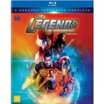 Blu-Ray - Dc Legends Of Tomorrow - Lendas do Amanhã - Segunda Temporada Completa