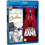 Blu-Ray - Dose Dupla - Casablanca + Cidadão Kane (Duplo)