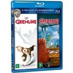 Blu-Ray - Dose Dupla - Gremlins + Gremlins 2 - a Nova Turma (Duplo)