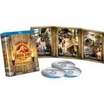 Blu-ray - Jurassic Park - Trilogia Completa - Edição de Colecionador - Digipak