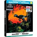 Blu-ray - Jurassic World - Coleção Completa (Steelbook)
