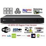 Blu-Ray Lg Bpm-35 Região Livre Player