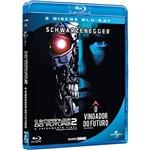 Blu-ray o Vingador do Futuro + Exterminador do Futuro 2