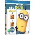 Blu-Ray - os Minions: a Coleção