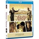 Blu-Ray - para Roma com Amor
