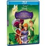 Blu-Ray Peter Pan em de Volta à Terra do Nunca (1 Disco)