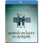 Blu-ray - Quando as Luzes se Apagam