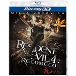 Blu-Ray - Resident Evil 4: Recomeço (3D)