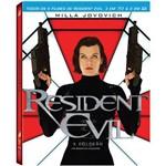 Blu-ray - Resident Evil - Coleção com os 5 Filmes