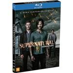 Blu-Ray - Supernatural: Sobrenatural - a Nona Temporada Completa (4 Discos)